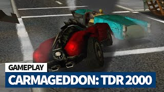 Retro Gameplay of the Day - Carmageddon TDR 2000 (2000) - The Boulevard