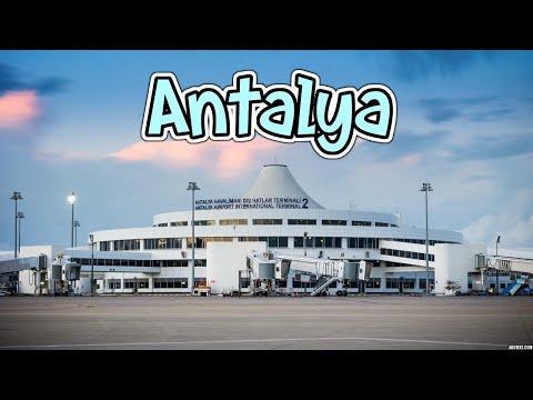 Аэропорт Анталия Турция
