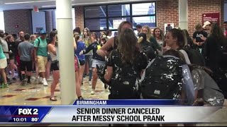 WE WERE ON THE NEWS!!! (Senior pranks, Running from cops!)
