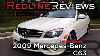 2009 Mercedes-Benz C63 AMG Review, Walkaround, Exhaust & Test Drive