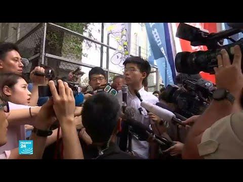 زعيم طلابي يدعو رئيسة حكومة هونغ كونغ إلى الاستقالة  - نشر قبل 2 ساعة