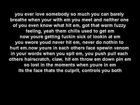 Eminem ft Rihanna  Love the way you lie  LYRICS