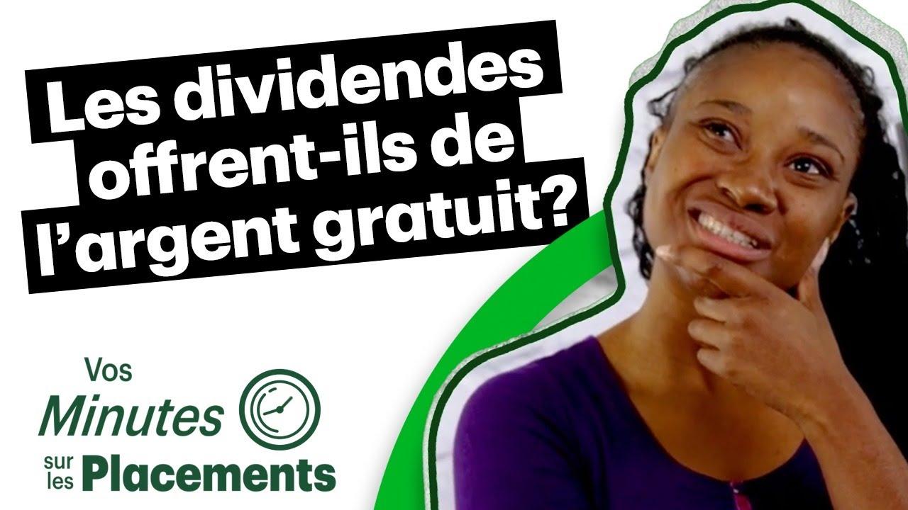 Les dividendes offrent-ils de l'argent gratuit?