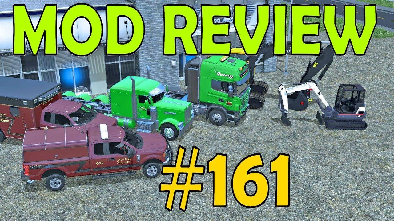 Farming Simulator 17 Mod Review #161 Excavators, 2017 F250's & Semi's by  Square2448