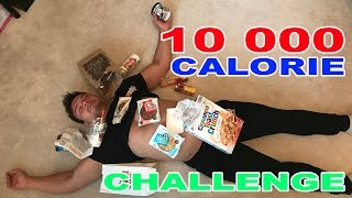 10 000 Calorie Challenge. 10k Calories in 10 hours