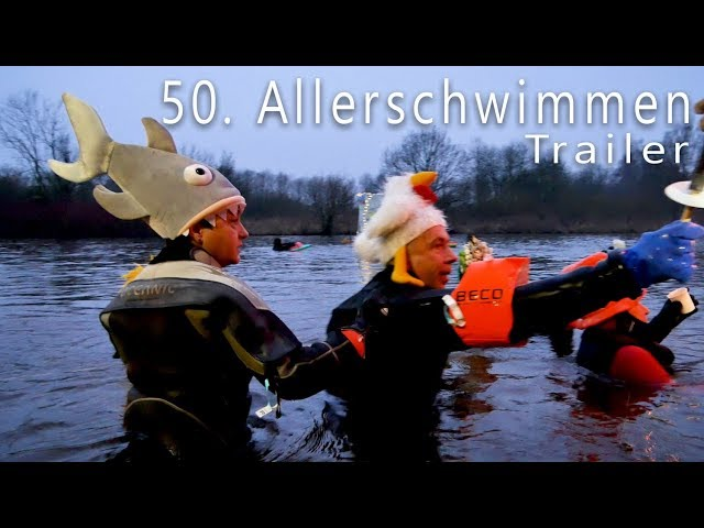 Celler Aller-Winter-Fackelschwimmen 2018 - Trailer