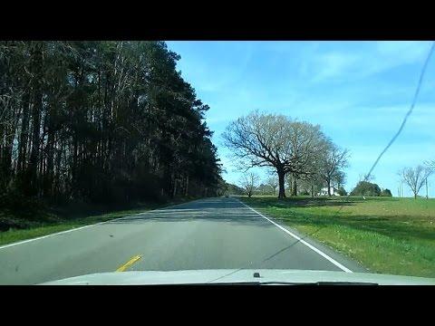 Driving on Hwy 258, Tarboro NC to Murfreesboro NC, w/Mellow Music