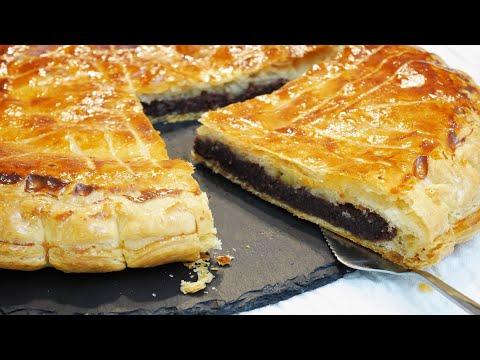 recette-de-la-galette-des-rois-chocolat-banane---how-to-make-a-chocolat-king-cake