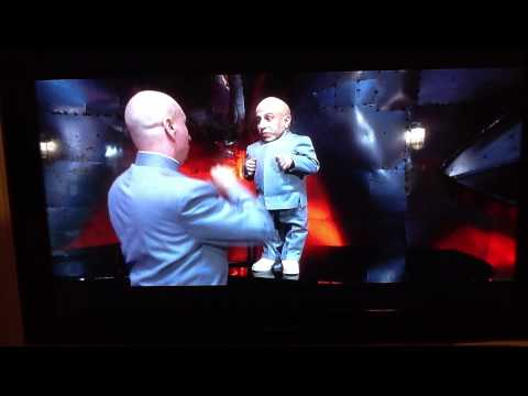 Austin Powers tent scene and Dr. Evil and Mini me rapping Just the Two of Us The Spy Who Shagged Me