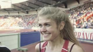 Konstanze Klosterhalfen - interview after Ostrava Golden Spike 2016