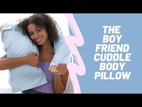 The Original Boyfriend Cuddle Body Pillow