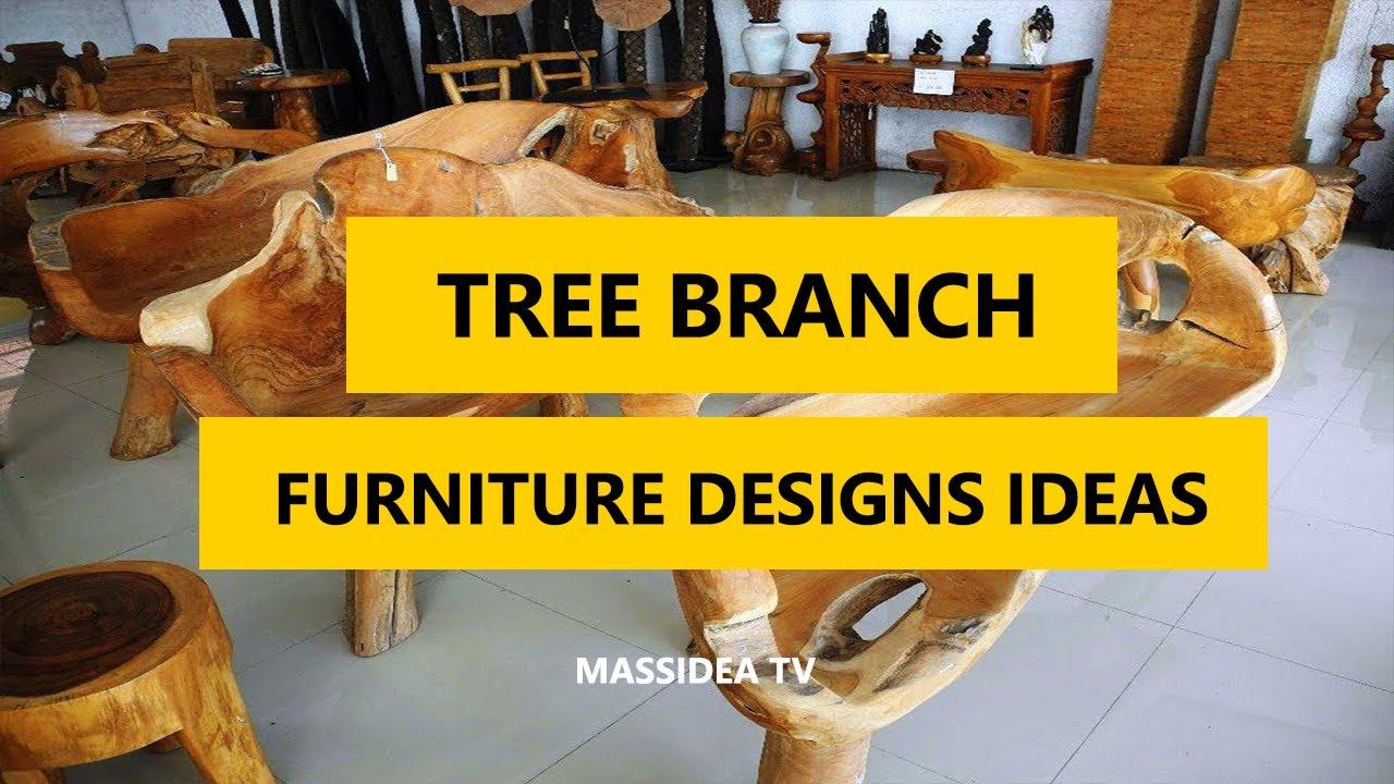 55+ Stunning Tree Branch Furniture Designs Ideas We Love 2017