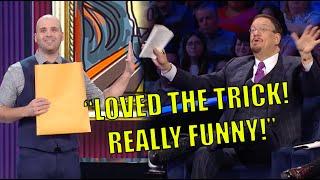 Magician Does FACE SWAP! Michael Bourada on Penn \u0026 Teller: Fool Us