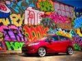Ford Fiesta Photoshoot Downtown LA HDR Graffiti