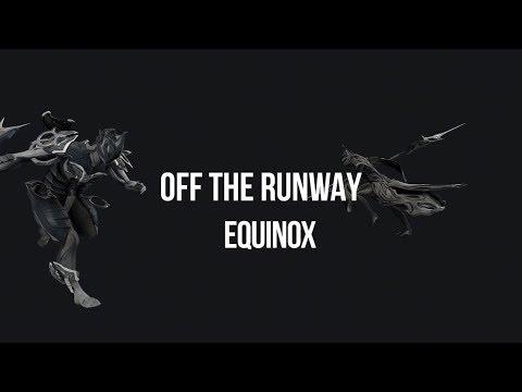 Warframe: Off The Runway - Equinox Fashionframe