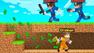 COP HUNTERS VS ROḂBER SPEEDRUNNER In Minecraft!