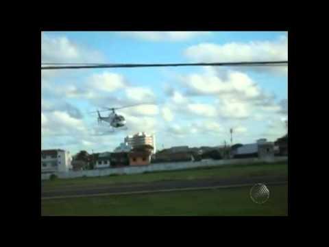 Helicopter crashes in Ilheus, Brazil / Helicóptero cai em Ilhéus, Brazil