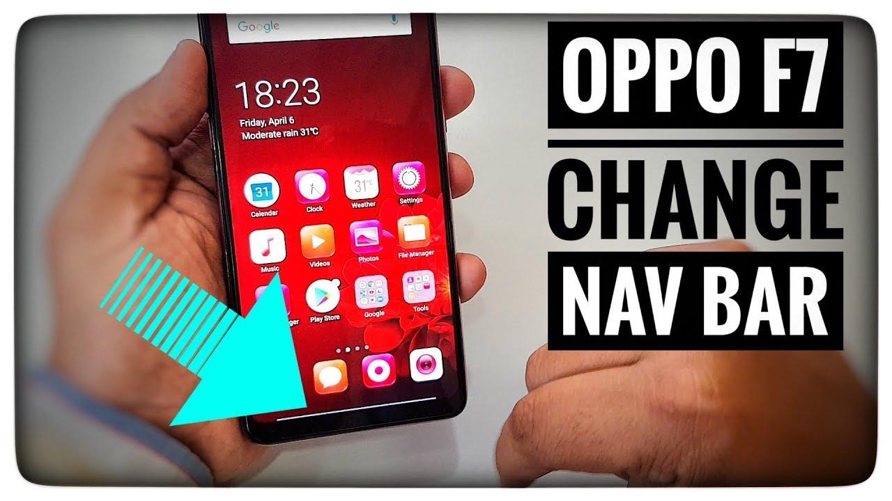 Oppo F7 Change Nav Bar Youtube Earise F9 Portable Wireless Bluetooth Speaker