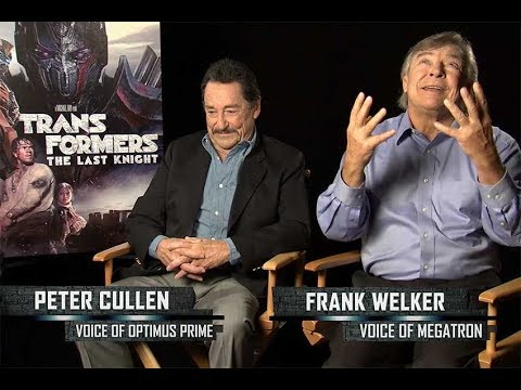Interview With Optimus Prime and Megatron Voices Frank Welker and Peter Cullen