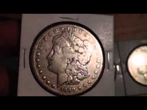 Collecting A Full Set Of Carson City Morgan Silver Dollars - Brief Look At The Short Series