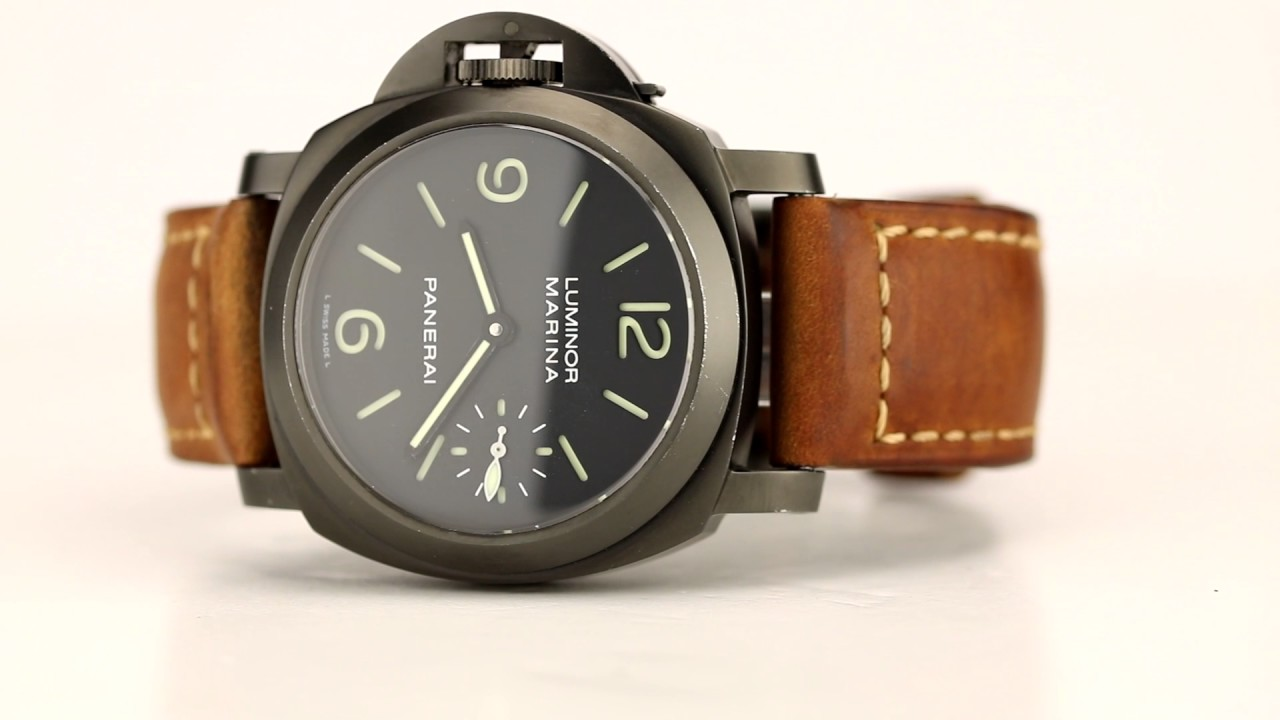 les montres panerai luminor marina d 39 occasion de. Black Bedroom Furniture Sets. Home Design Ideas