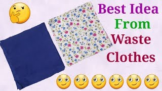 Best idea from Waste cloths and material // by simple cutting.mp3