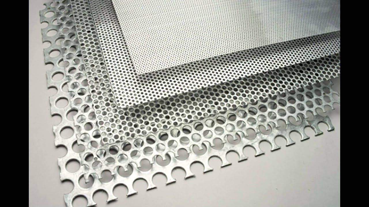 Stainless Steel Perforated Metal Plates Mesh Inquiry To