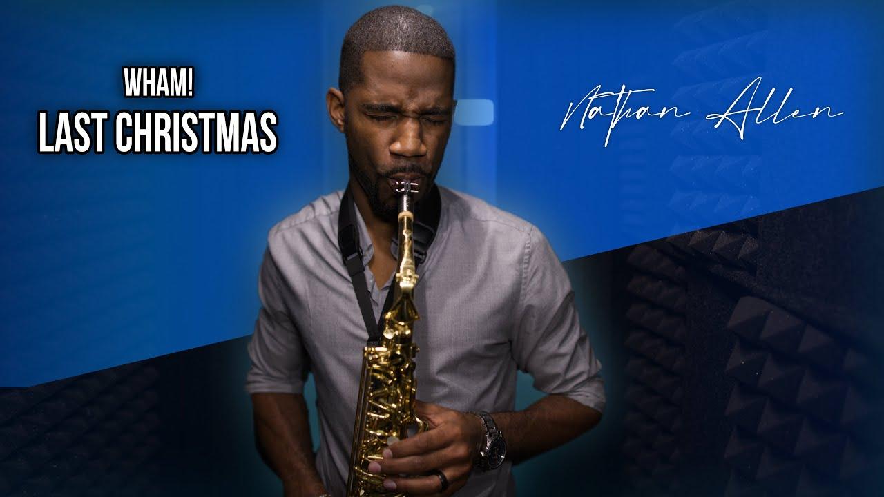 Last Christmas - Saxophone Cover (Wham!)