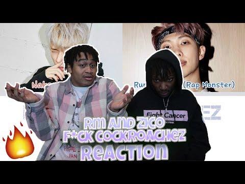 "BTS (방탄소년단) RM & ZICO - F*CK Cockroachez  - REACTION   ""Runch Randa and Nakseo"""
