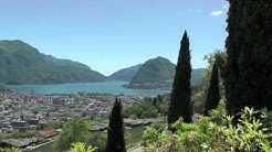 In Search of Anthony Burgess: Lugano — views from Savosa and Porza