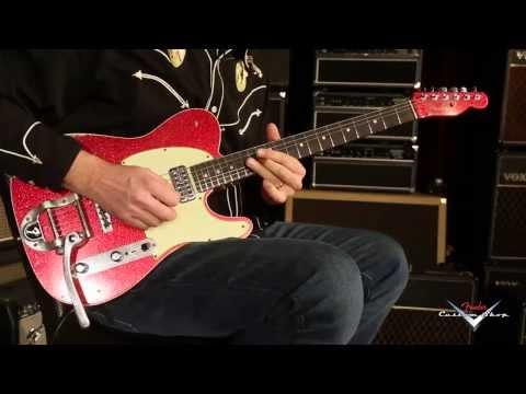 Fender Custom Shop 2014 NAMM Double TV Jones Telecaster Relic  •  SN: R73024