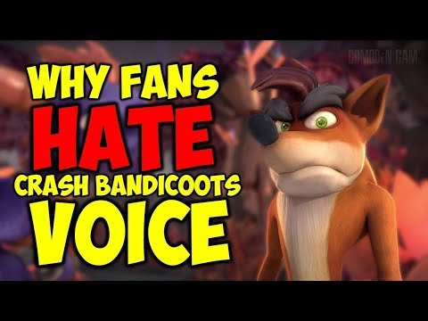 Why Some Fans Are Upset About Crash Bandicoot's Voice In Skylanders Academy