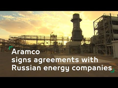 Aramco signs agreements with Russian energy companies