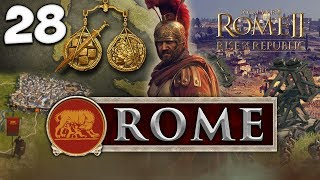 SLAYING SYRACUSE! Total War: Rome II - Rise of the Republic - Rome Campaign #28