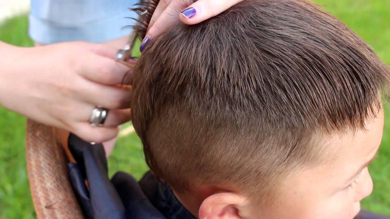 Как сделать стрижку волос на голове