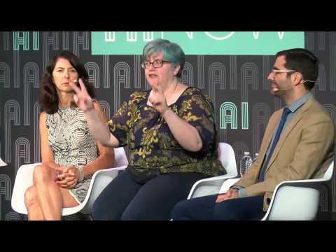 Panel: Bias Traps in AI   AI Now 2017