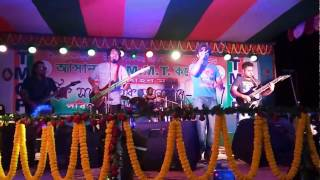 Delete Band performance at AMMTC social 2K17