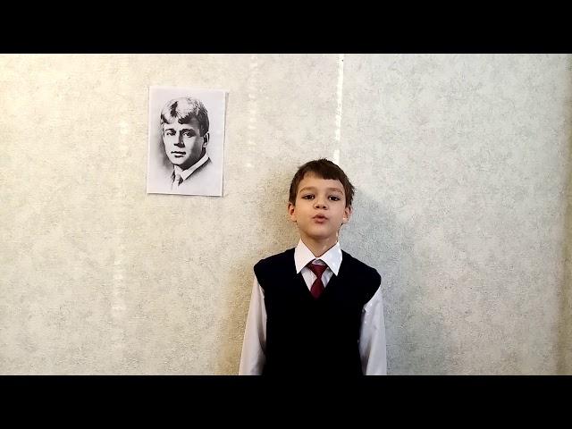 Изображение предпросмотра прочтения – ВероникаГришина читает произведение «Буря» С.А.Есенина