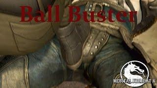 Mortal Kombat X - Sonya Blade - Ball Buster Cutscene