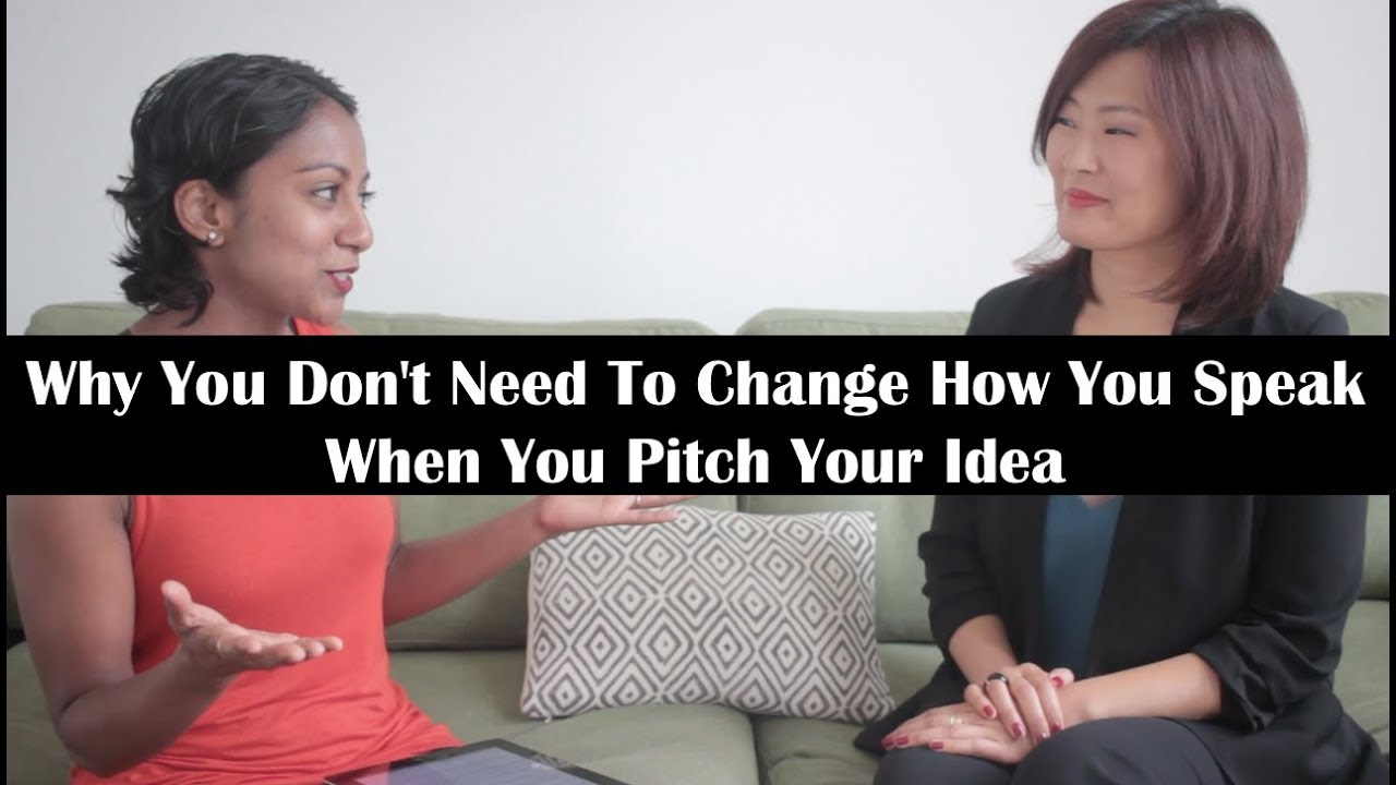 Why You Don't Need to Change How You Speak When You Pitch Your Idea | Marie Perruchet