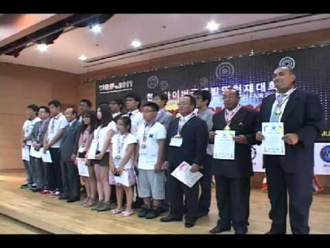 CIGIF 2011 VIDEO - Cyber Interational Genius Inventor Fair in Korea 2011