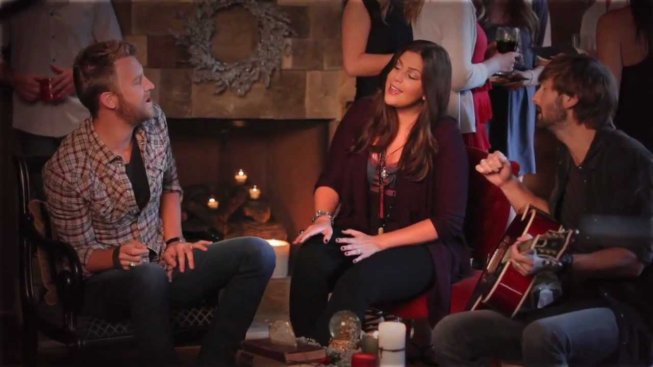 lady antebellum behind the scenes a holly jolly christmas music video