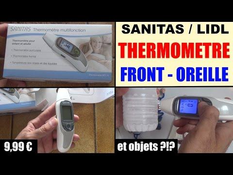 6 in 1, SANITAS Thermometre SFT75 Multifunctional