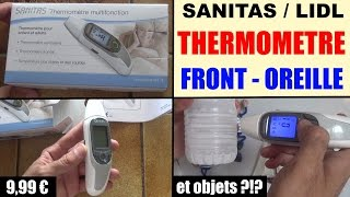 thermometre multifonction lidl sanitas sft 75 multifunktions-thermometer digital