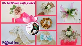 Worry Free DIY Wedding Bows and Ideas in Minutes