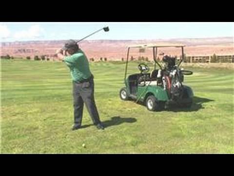 Golf Swing Mechanics : How to Do a One-Piece Golf Swing