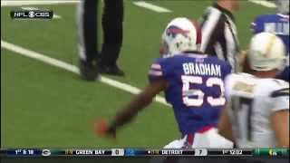 Brandon Spikes headbutt
