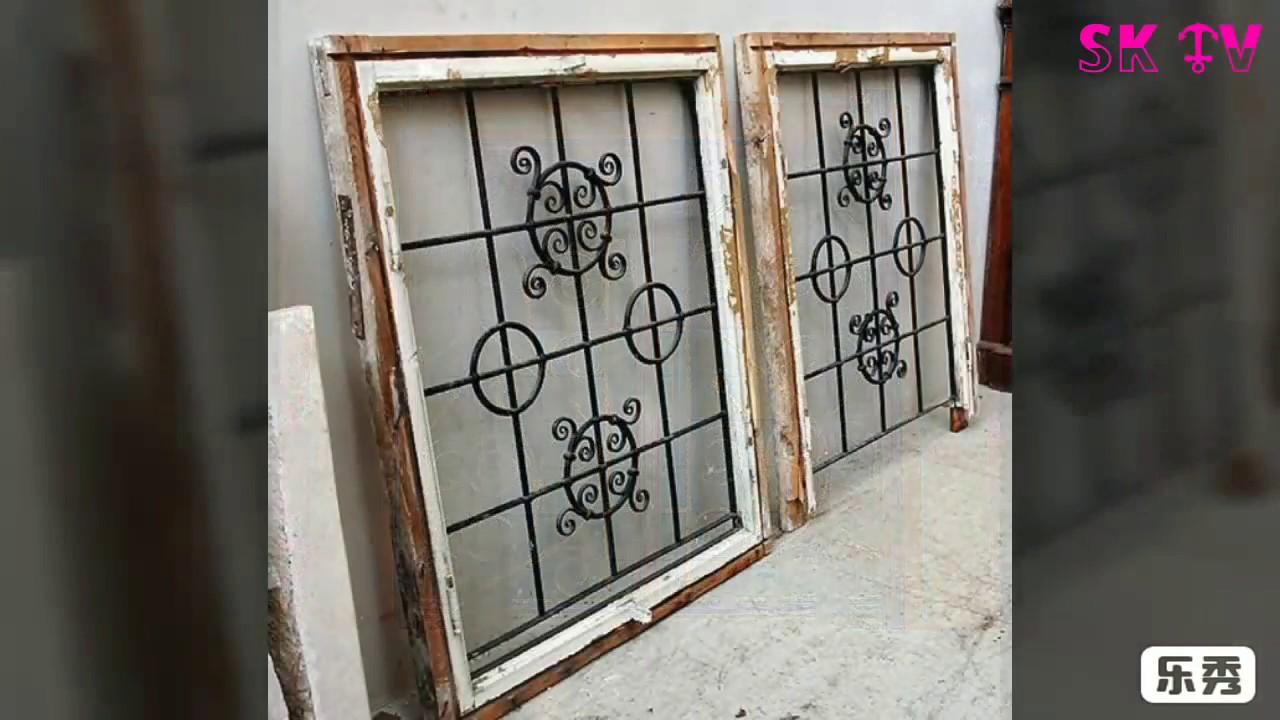 Fancy Window Grill Design