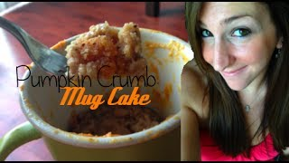 Pumpkin Mug Cake | Quick Fix