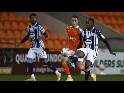 Blackpool v West Bromwich Albion Emirates FA Cup highlights